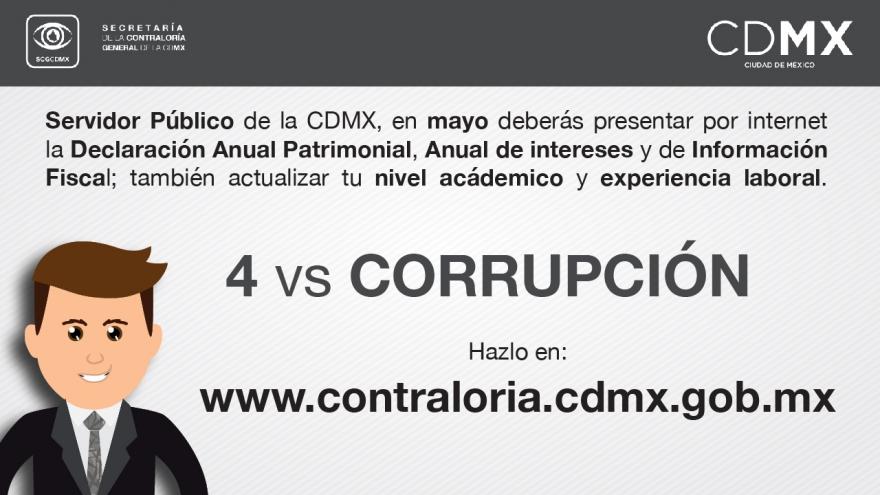 4 contra la Corrupción